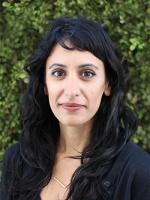 Headshot of Pratima Musburger, JD, MPH