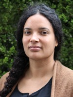 Headshot of Saneta deVuono-powell, JD, MCP