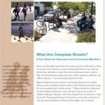 What Are Complete Streets? Cover