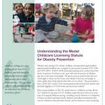 Understanding the Model Childcare Licensing Statute for Obesity Prevention