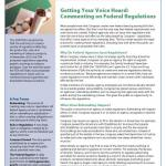 Getting Your Voice Heard: Commenting on Federal Regulations