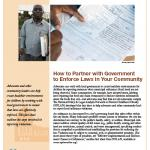 How to Partner with Government to Enforce Local Laws