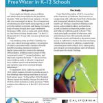 Fulfilling the Promise of Free Water in K-12 Schools
