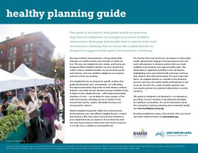 Healthy Planning Guide Cover