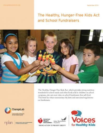 The Healthy, Hunger-Free Kids Act and School Fundraisers Cover