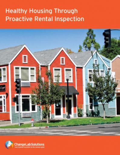 Healthy Housing Through Proactive Rental Inspection Cover