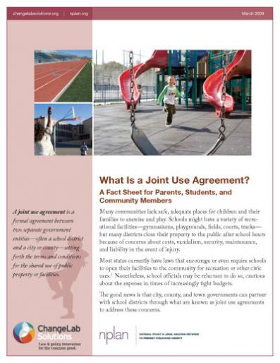 What Is a Joint Use Agreement? Cover
