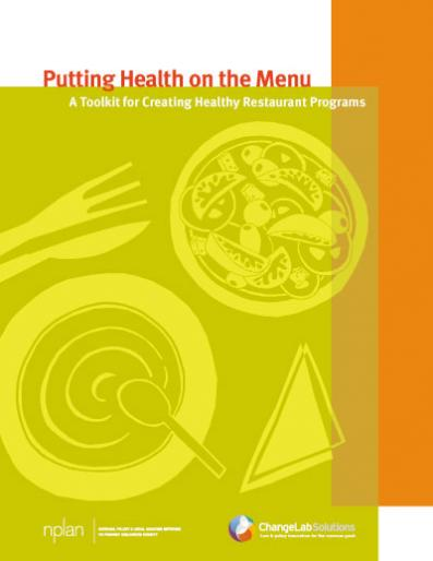 Putting Health on the Menu Cover