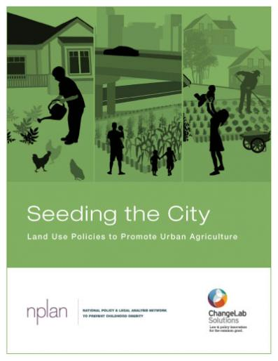Seeding the City Cover