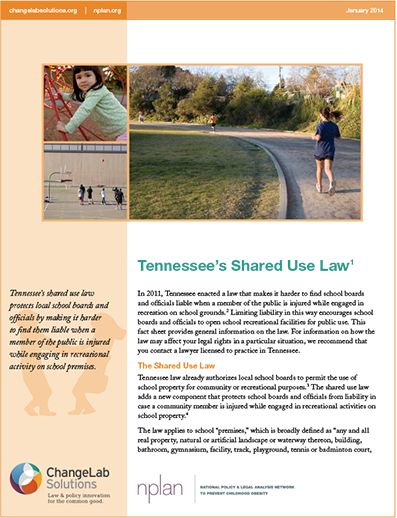 Tennessee Joint Use Laws