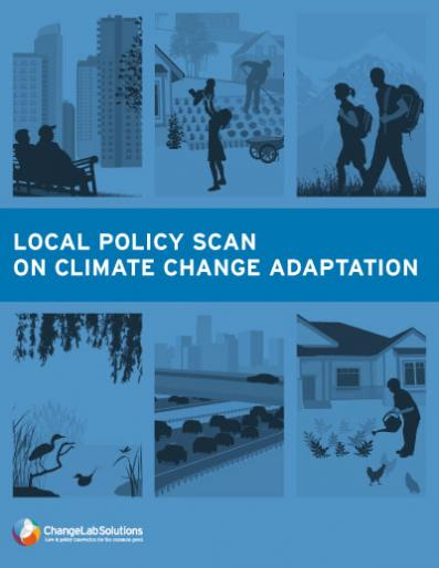 Local Policy Scan on Climate Change Adaptation