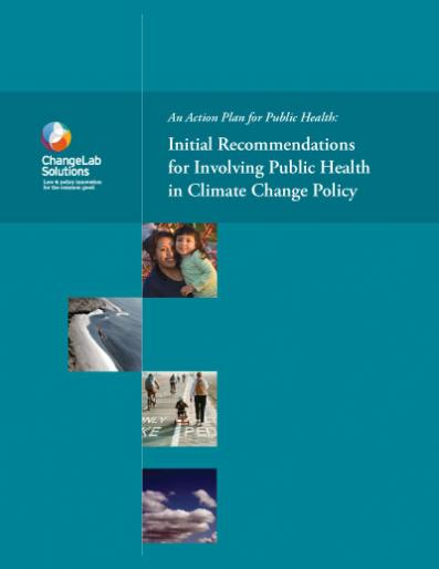 Involving Public Health in Climate Change Policy