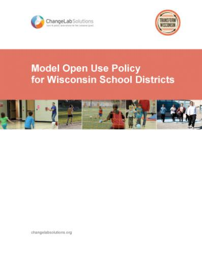 Model Open Use Policy for Wisconsin School Districts