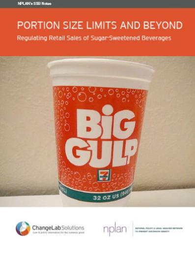 Regulating Retail Sales of Sugary Drinks