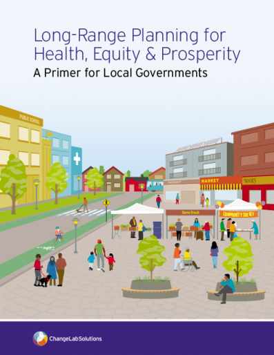 Cover page of the Long-Range Planning for Health, Equity & Prosperity guide