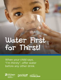 GHKC's Water First For Thirst campaign banner